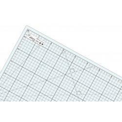 Tapis de découpe auto-cicatrisant translucide-transparent A2 (45x60cm)